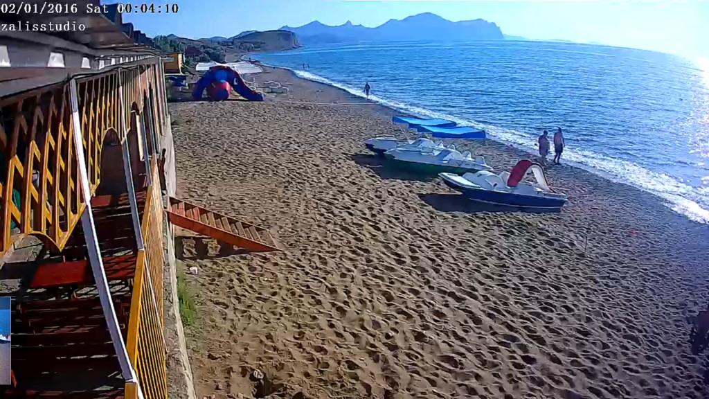 солнечная долина пляж фото